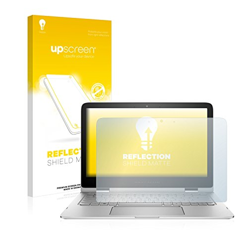 upscreen Entspiegelungs-Schutzfolie kompatibel mit HP Spectre x360 13-4007na – Anti-Reflex Bildschirmschutz-Folie Matt