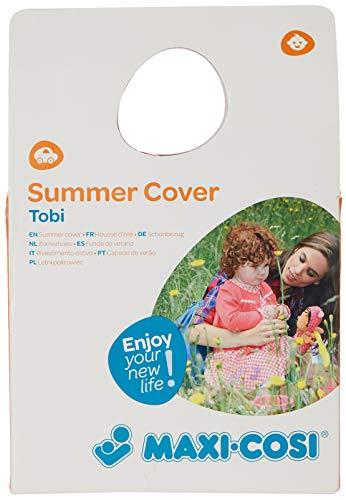 Maxi-Cosi Sommerbezug für Kindersitz Tobi, angenehm weich, komfortabel und Schweiß absorbierend, pink (rosa)