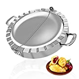 PAMISO Large Empanada Maker, 6 inch Stainless Steel Empanada Press, Pastry Tools, Pocket Pie