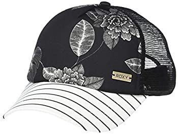 Roxy Women s Water Come Down Trucket Hat anthracite flower of love 1SZ