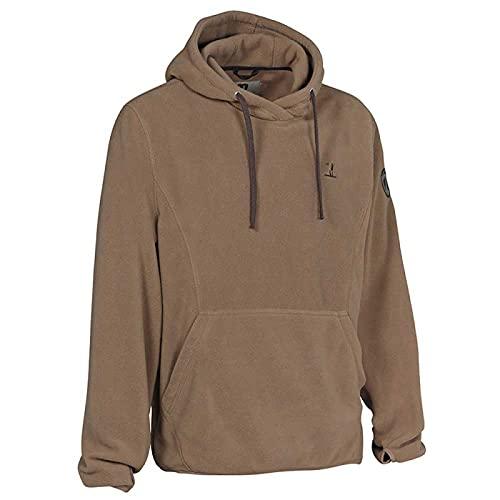 Percussion® bluza myśliwska z kapturem, sweter myśliwski dla mężczyzn, kolor oliwkowy/zielony, bluza z kapturem, na polowanie, natura i czas wolny Oliv (Grün) X-L