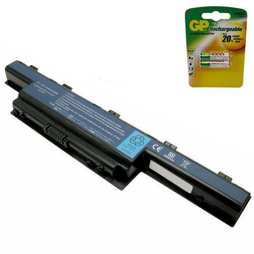 PowerWarehouse Acer TravelMate 5760Batteria–Premium Batteria 6Cell