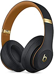 Beats Studio3 Wireless Noise Cancelling Over-Ear Headphones - Midnight Black (Latest Model)