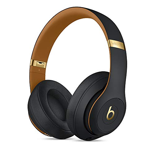 Beats Studio3 Wireless Over‑Ear Kopfhörer - Die Beats Skyline Collection - Nachtschwarz