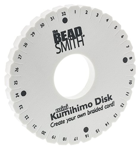 Kumihimo-Beadsmith 10,8 cm rund geflochten Disc Plus Anleitung