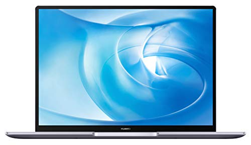 HUAWEI MateBook 14 2020 Laptop, 14 Zoll 2K-FullView Notebook, AMD Ryzen 5 4600H, 16 GB RAM, 512 GB SSD, leichtes Metallgehäuse, Fingerabdrucksensor, Windows 10 Home - Space Gray 40 EU