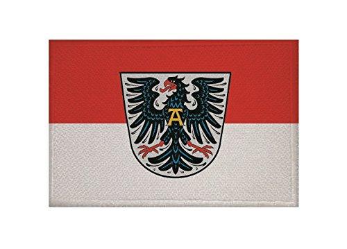 U24 Aufnäher Altenstadt Fahne Flagge Aufbügler Patch 9 x 6 cm