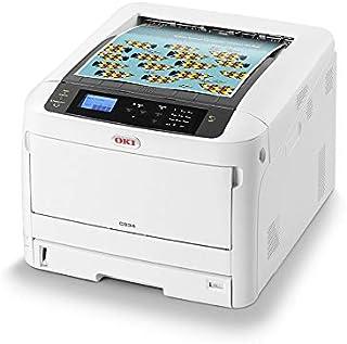 OKI C834dnw Color 1200 x 600 dpi A3 WiFi - Impresora láser (LED, Color, 1200 x 600 dpi, A3, 300 Hojas, 36 ppm)