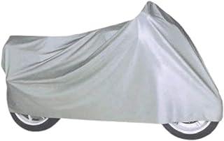 Funda para Moto, Cubierta, Impermeable, Protector, Tela Cubre Moto, Tela Aislante, plástico Cubre Motocicleta, Funda Exterior, protección contra la Lluvia, Nieve, Humedad, Suciedad 210X120CM Talla :M