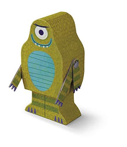 Crocodile Creek Creeture puzzel + Play Alien puzzel in Alien Vorm Box (48 stuks), 20,3 cm