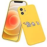 LuGeKe Elephant Mom Phone Case for iPhoneXR,Mom Babies Patterned Case Cover,Soft TPU Cover Flexible Ultra Slim Anti-Stratch Bumper Protective Boys Phonecase(Elephant Family)