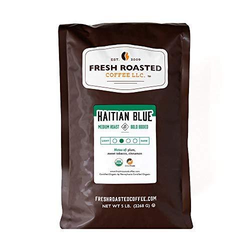 shopping Omaha Mall Fresh Roasted Coffee Organic Haitian Kosher Roast Medium Blue