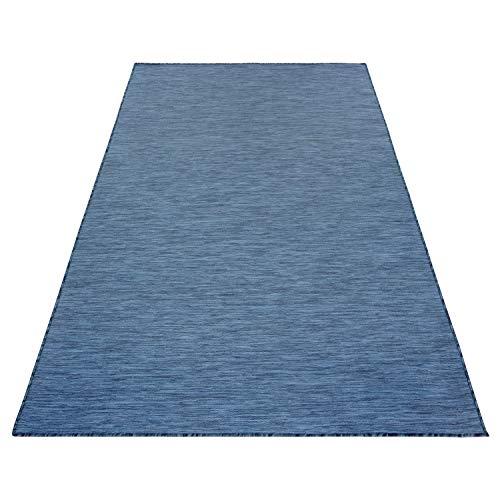 ikea matta stockholm blå