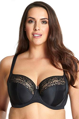 Sculptresse By Panache Women's Plus-Size Chi Chi Full Cup, Black, 46GG