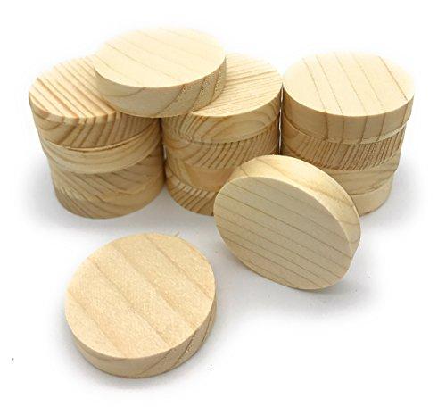 Querholzplättchen D=40mm 15-Stück/0,363€ Stück