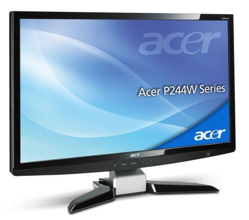 Acer P244Wbmii 24' Full HD Widescreen Cystalbrite Multimedia TFT