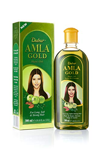 Dabur Amla Gold Hair Oil, 300 ml Bo…