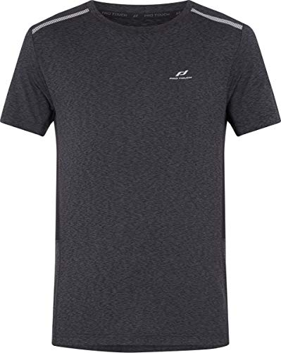 Pro Touch Rylu Homme T-Shirts, Schwarz/Melange, FR : S (Taille Fabricant : S)