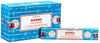 Satya Incense Sticks Karma Incense Sticks 12 Count 180 Grams Box