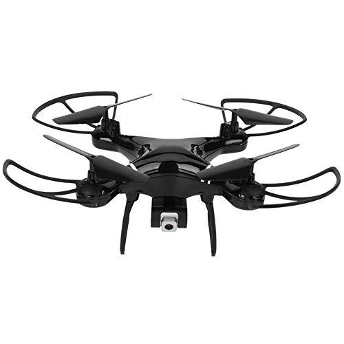 Drone con videocamera 4K / 200 W, Mini quadricottero RC, Drone RC Professionale con modalità Senza Testa, Mantenimento dell'altitudine, Trasmissione in Tempo Reale, Ritorno con Un Tasto(Nero 4K)