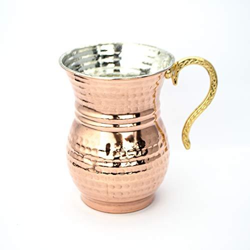 6 Stück Türkische Ayran Becher Tasse Handgemachte Kupfer Tasse Bakir Masraba Masrafa