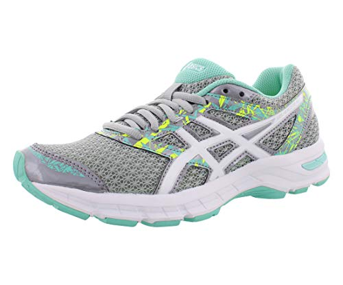 ASICS Women's Gel-Excite¿ 4 Mid Grey/White/Green 9 B US