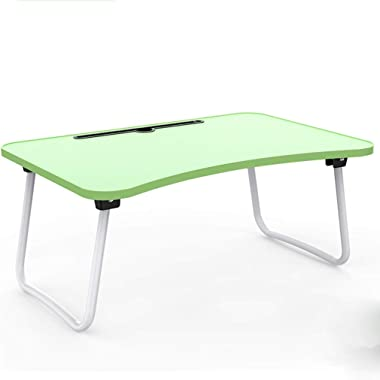 WXCL Folding Table Laptop Table Dormitory Study Desk Simple Home Dining Table Size: 60cmx40cmx28cm