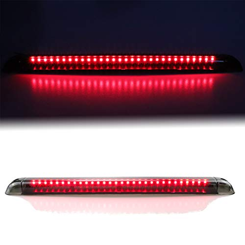 For Chevrolet Suburban Blazer/GMC Yukon Tahoe/Hummer H2 Third 3rd Brake Light LED Center High Mount Lamp Stop Light (Smoke)