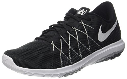 Nike Women's WMNS Flex Fury 2, Black/White-Wolf Grey-Dark Grey, 6 US