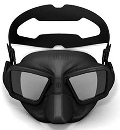 Omer Zero Cubed Mask - Black