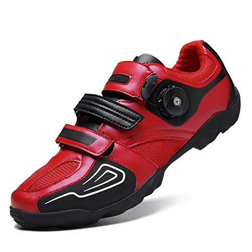 Gogodoing Zapatillas Ciclismo Carretera Hombre de Carretera Calzado de Bicicleta para hombreCalzado...