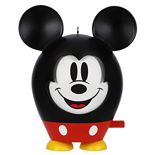 Hallmark Keepsake Christmas 2019 Year Dated Disney Mouse Ornament, Mickey Face to Face
