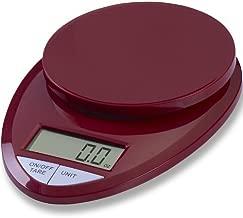 EatSmart ESKS-08 Kitchen Scale, One, Red