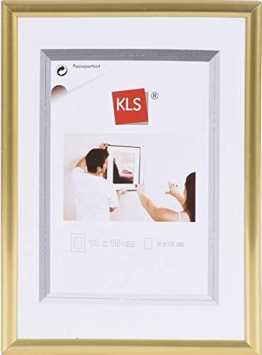 KLS Kunststof fotolijst 70x100 cm Gold Serie 42