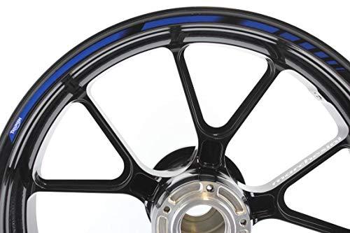 IMPRESSIATA Liserets de Jantes SpecialGP Moto Triumph Bleu Autocollants