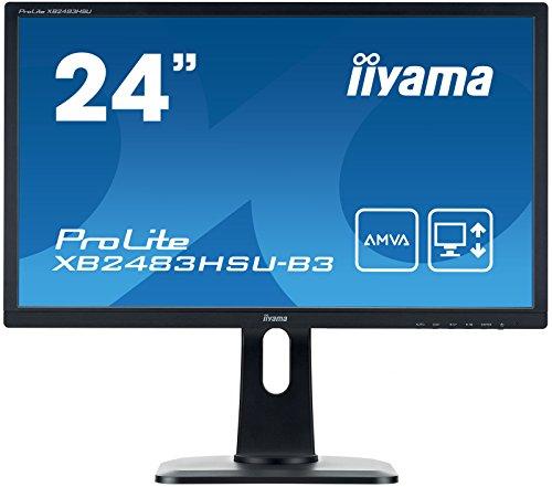iiyama XB2483HSU-B3 60,45 cm (24 Zoll) Monitor schwarz