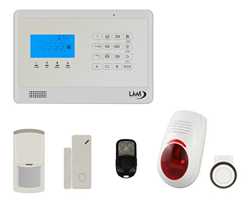 LKM Security wg-yl007 m2eb + 3S + 1 pir + sir03 02 Kit M2E Alarmsysteem huis draadloos