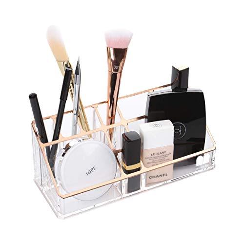 Moosy life ML02 ピンクゴールド 化粧品収納ボックス( コスメ収納 /月光シリーズ)