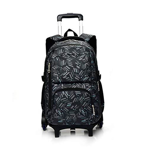 Trolley Bag geschenken schooltas Kerstmis rugzak met wieltjes schooltas bagage cabine vrije tijd reizen sporttas heren dames
