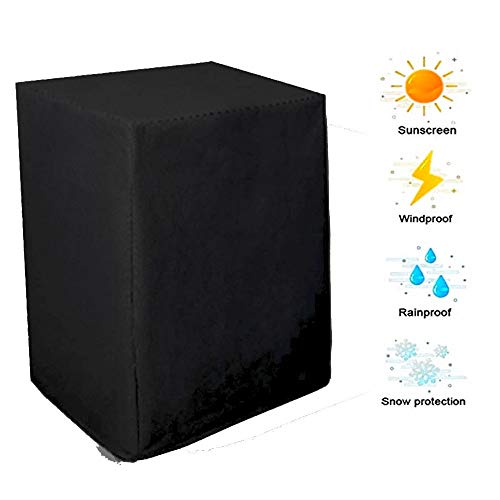 NINGWXQ Covers for Terrasmeubilair Duurzaam waterdicht Tarpaulin Tuinameublement waterdicht en stofdicht Four Seasons, verschillende maten, 2 kleuren (Color : Black, Size : 2x1x2m)