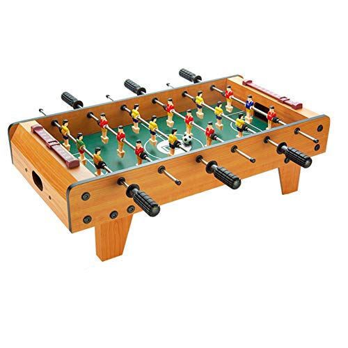 %23 OFF! TriGold Mini Foosball Game Wooden Table,Portable Football Table for Home Party Recreational...