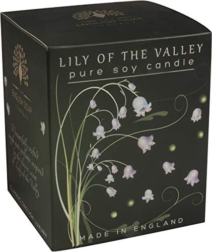 The English Soap Company, Lily of the Valley Soy Wax Candle, 170mls