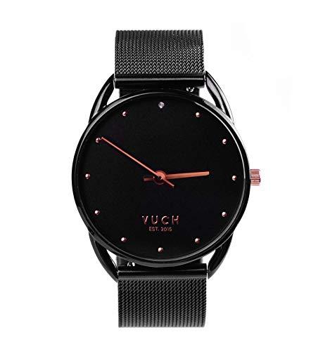 Vuch - Reloj de Pulsera para Mujer con Correa de Acero Inoxidable