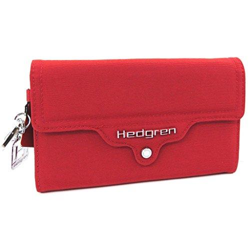 Hedgren [L4236] - Große geldbörse Tasche 'Hedgren' rot.