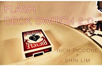 Flash Deck Switch 20 Improved Red by Shin Lim