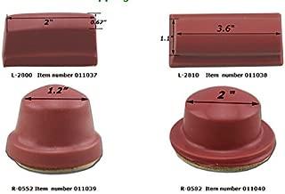 4 Pcs Pad Printing Rubber Head 1.2