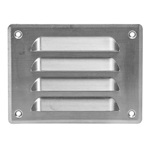 140x105 mm Aluminium Lüftungsgitter Abschlussgitter Insektenschutz Abluft Zuluft Metall Gitter