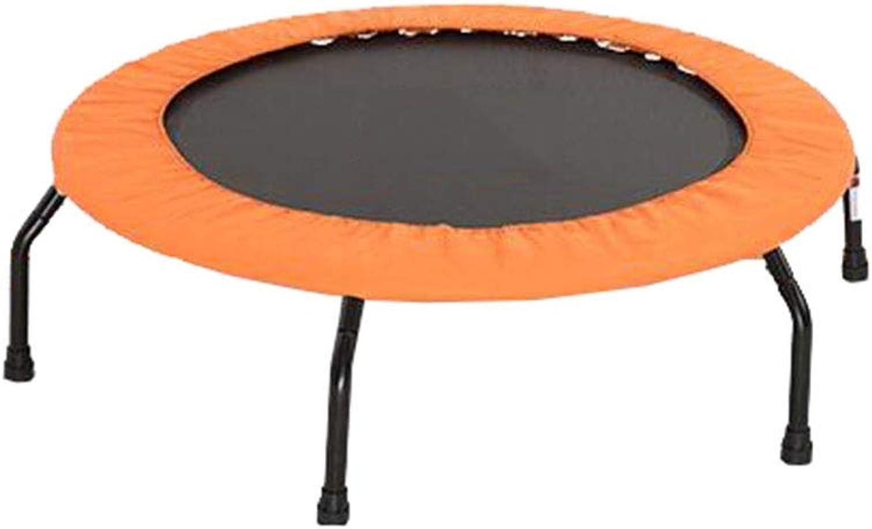 barato y de alta calidad QZ Fitness Trampoline Trampoline Trampoline Uso En El Hogar Mini Trampolín Deportivo Establo De Seguridad Los Niños Los Adultos (Color   naranja)  connotación de lujo discreta
