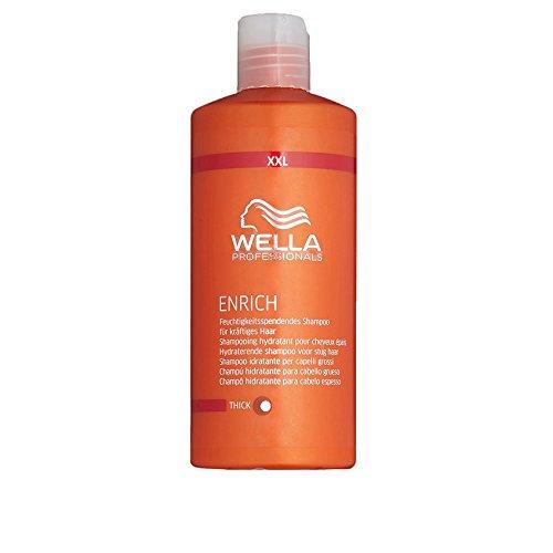 Wella Professionals ENRICH Shampoo THICK für kräftiges Haar (500 ml XXL Sondergröße)