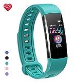 moreFit Fitness Tracker Kinder, Schrittzähler Uhr Fitness Armband mit Pulsmesser Schlafmonitor Stoppuhren Kalorienzähler Wasserdicht IP67 GPS Fitness Uhr Aktivitätstracker für Damen...